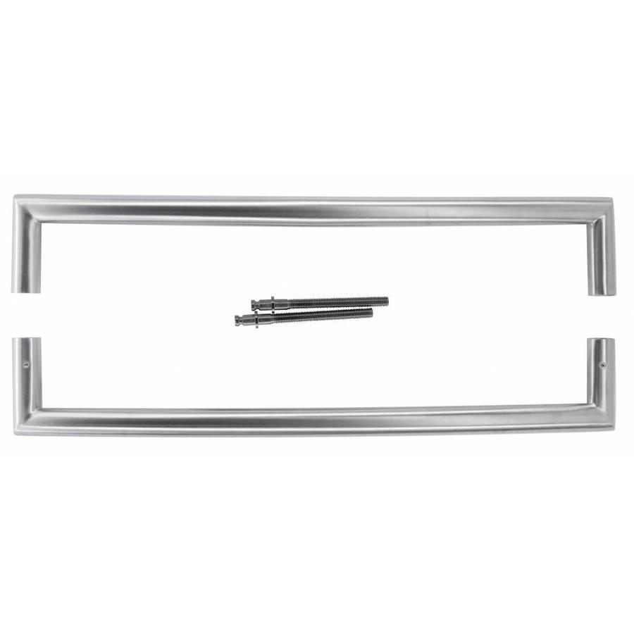 """RVS deurgreep """"UGG"""" U 20/400 paar voor deurdikte > 30 mm"""