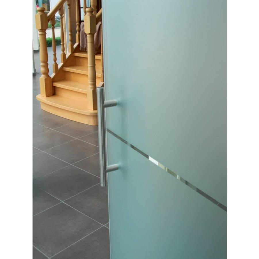 RVS deurgrepen T 20/200/300 paar voor deurdikte > 30 mm