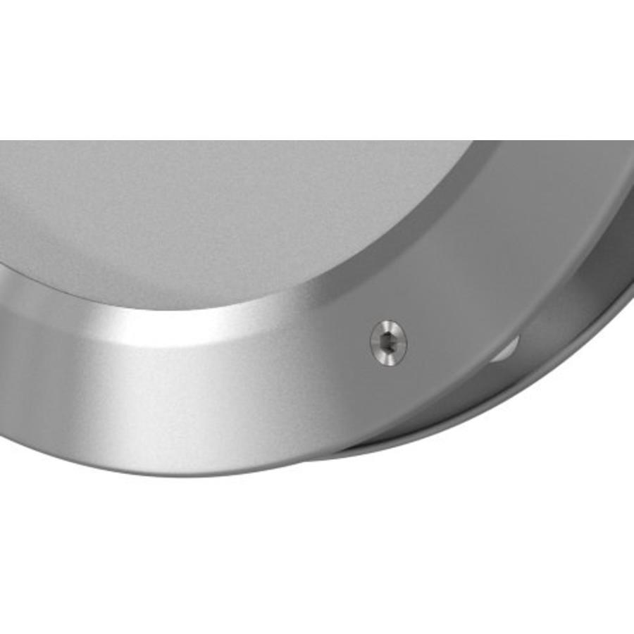 RVS patrijspoort B2000 300 mm + dubbel veiligheidsglas en éénzijdige bevestiging