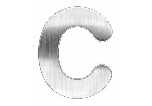Lettre de la maison C en acier inoxydable 130mm