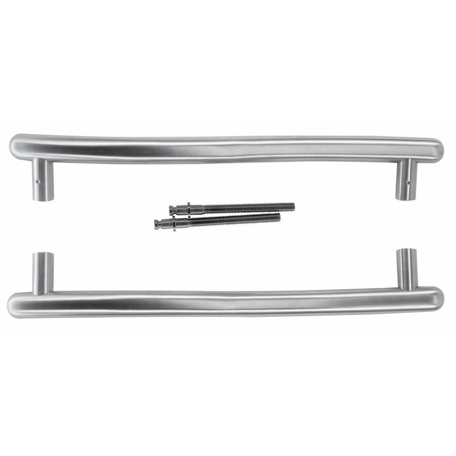 RVS deurgrepen S 25/350/420 paar deurdikte >3CM