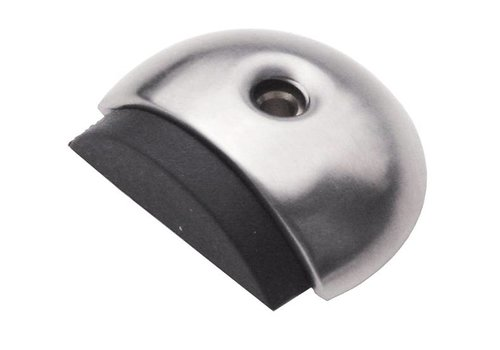 FLOOR DOOR STOP-CRESCENT INOX PLUS
