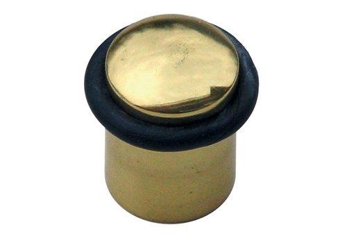Floor door stop solid copper Ø32x35mm