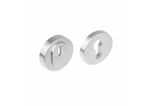 SKG3 Safety rosette stainless steel round concealed with core pull protection