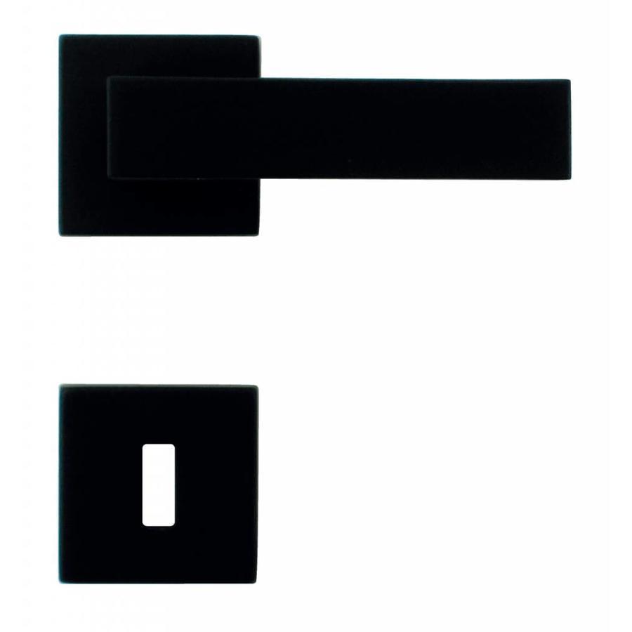DEURKLINK CUBICA ZWART R+E