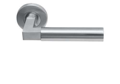 Door handles Sofia stainless steel solid round