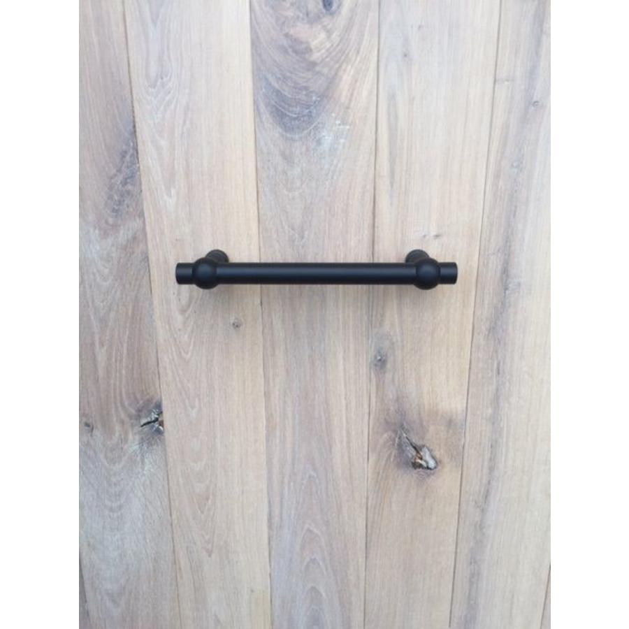 """Zwarte deurgrepen """"Petra"""" 19/200/258 paar voor deurdikte > 30 mm"""