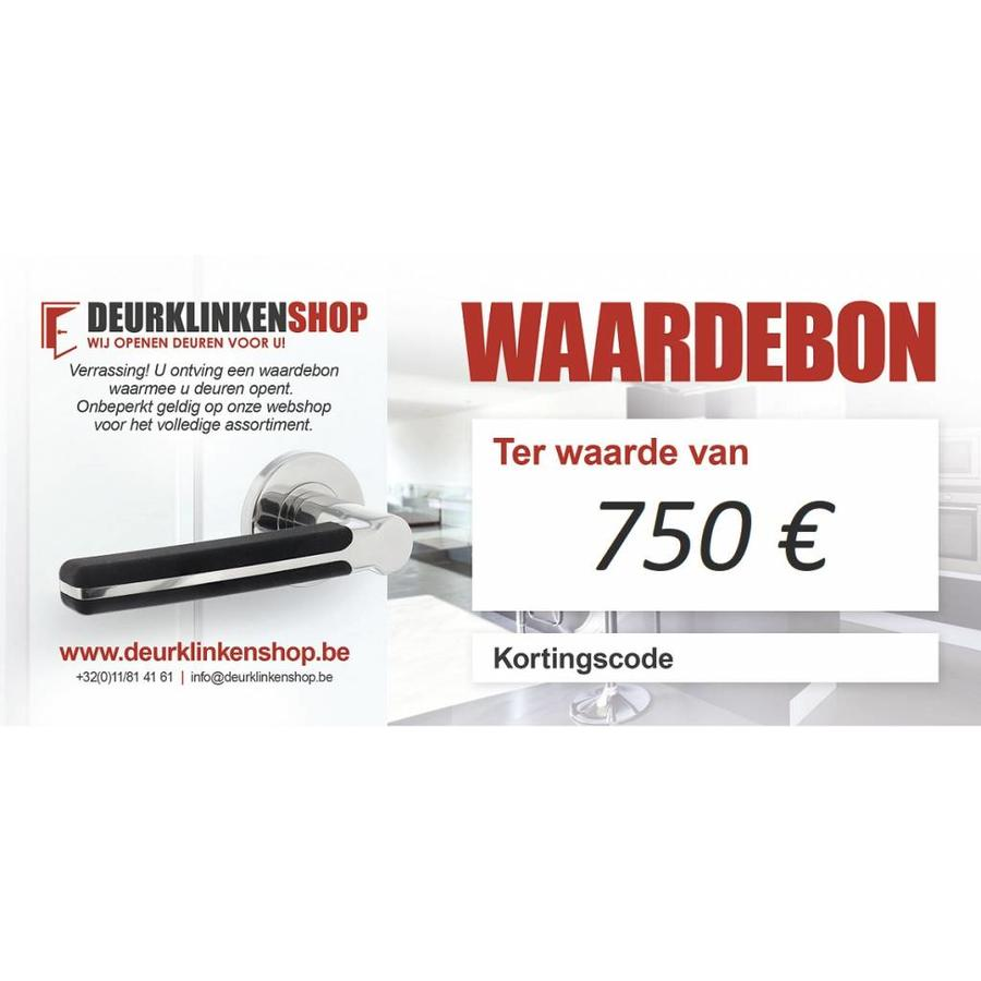 Cadeaubon 750 €