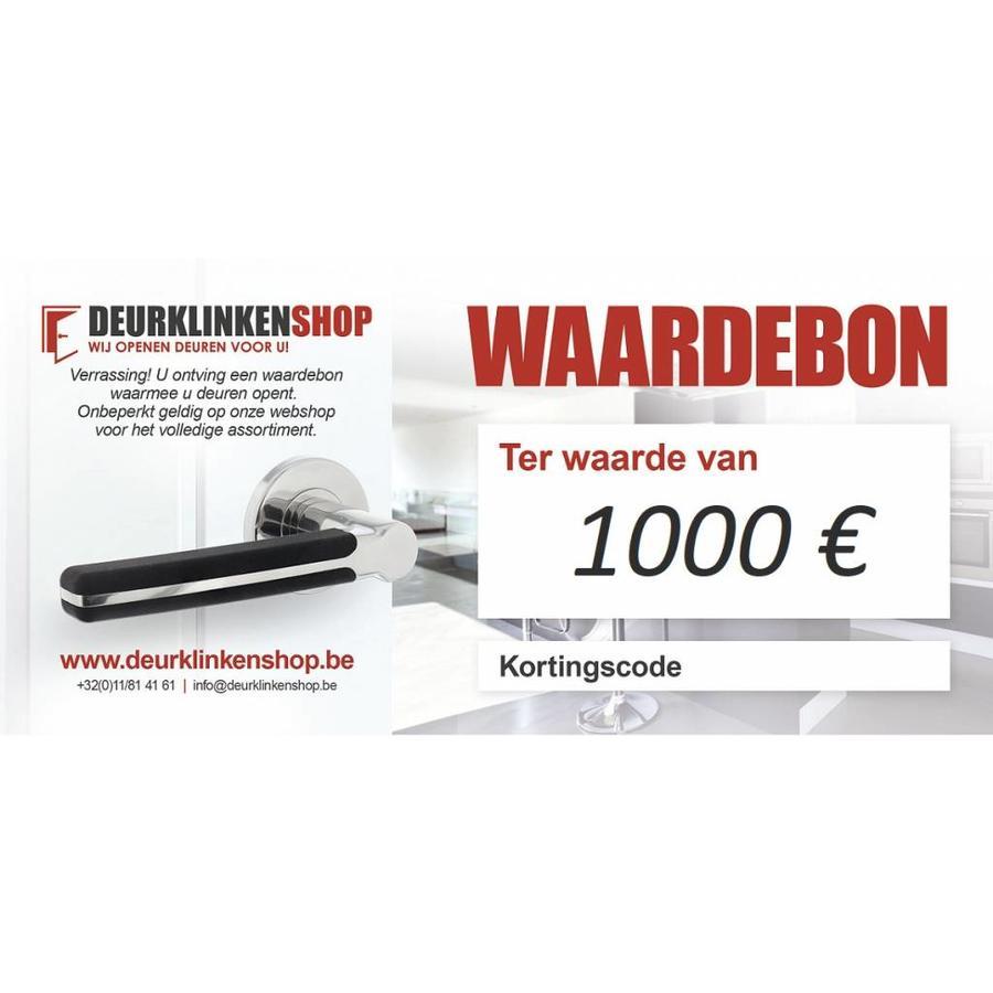 Cadeaubon 1000 €