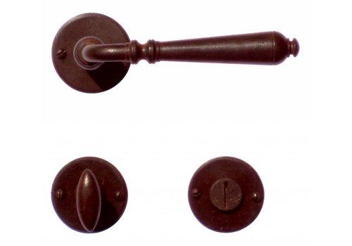 Door handles Elegeance rust around + WC