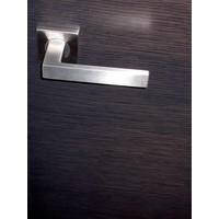 RVS deurklinken Cosmic met sleutelplaatjes