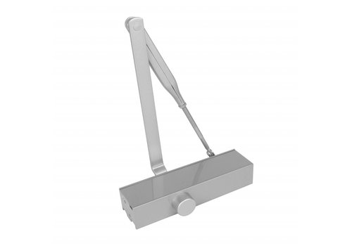 Door closer with scissor arm, Type DR120, 207x55x40, closing force 2 ~ 4