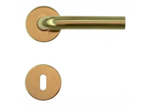 Poignées de porte en titane Forme L 19 mm avec BB