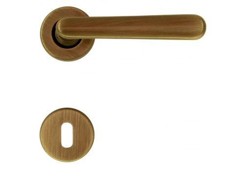 DOOR HANDLE VERA BRONZE + BB