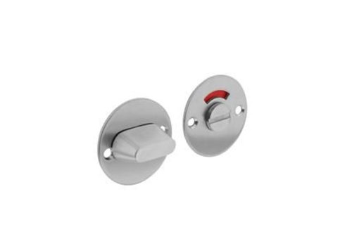 WC closure 8mm round flat 50x2mm stainless steel