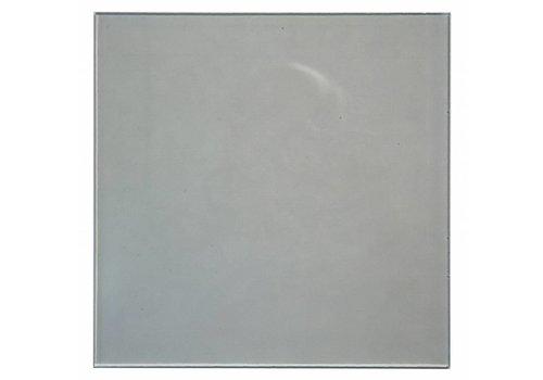 GLAS RETRO VIERKANT MAT 255X255X6MM
