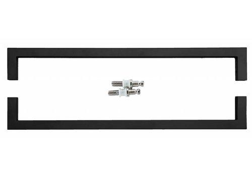 Traktor Cubica 20/500 schwarz Paar für Glas
