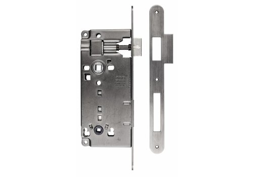 LOCK OLD SILVER WC 90MM