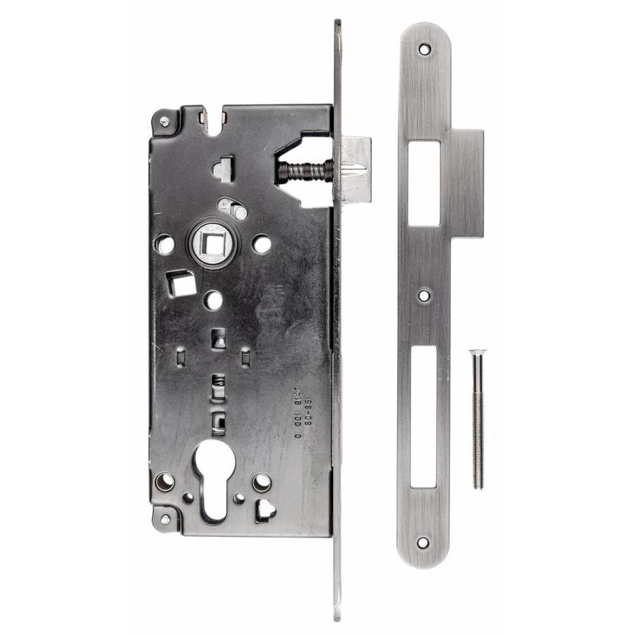 SLOT AGB OLD SILVER CYLINDER ASMAAT 85 MM, DOORN 50mm, 22x238MM