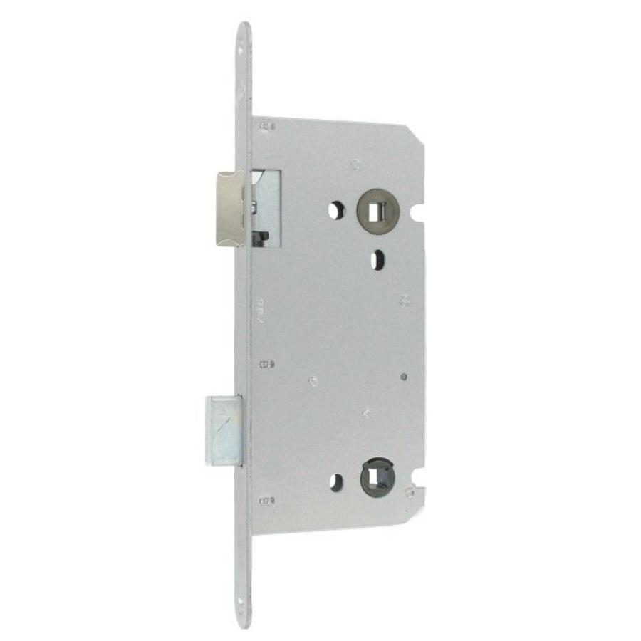 Litto WC-slot asmaat 116mm / doorn 55mm, RVS look met keerbare dagschoot