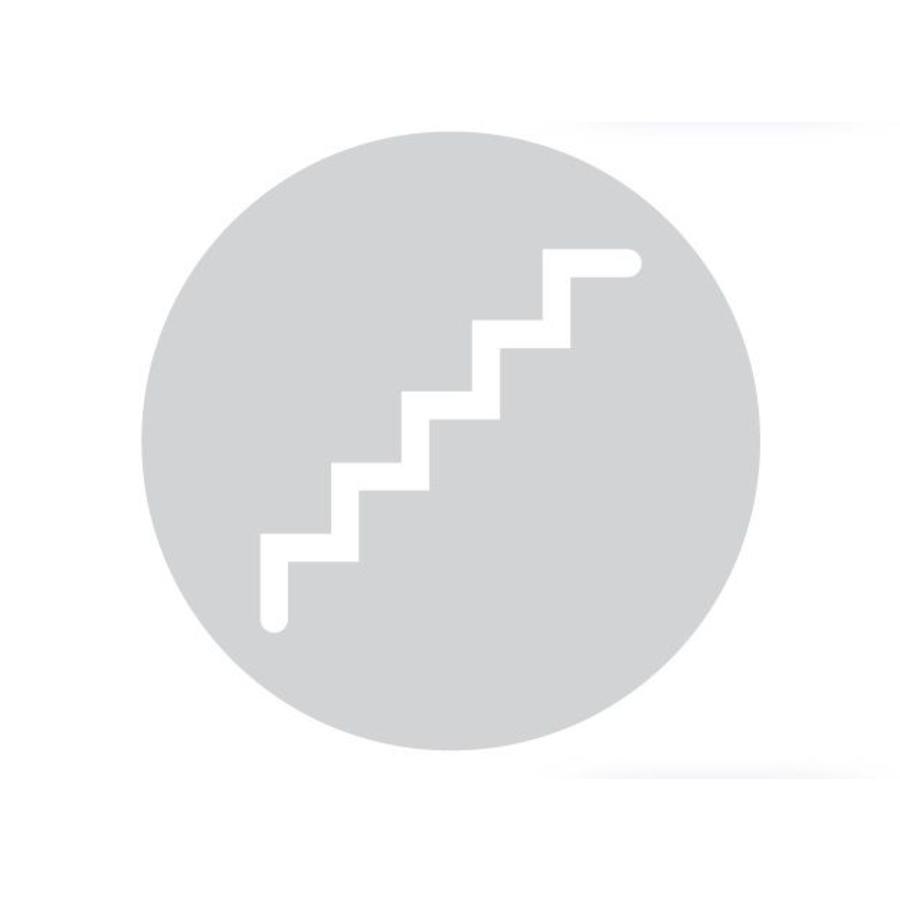 GLAS ROND PICTO TRAP 198MM DIKTE 6 MM