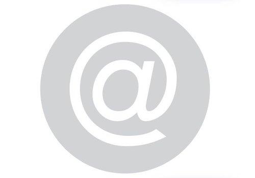 GLAS ROND PICTO BUREEL 198MM DIKTE 6 MM