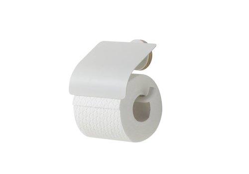 Tiger Urban Porte-rouleau papier toilette avec couvercle Blanc