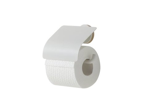 Tiger Urban Toiletrolhouder met klep Wit