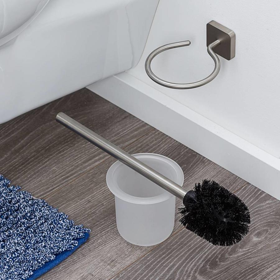 Tiger Onu Toiletborstel met houder RVS geborsteld