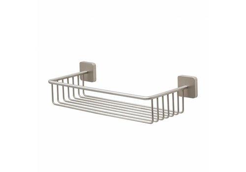 Tiger Onu Shower basket Stainless steel brushed