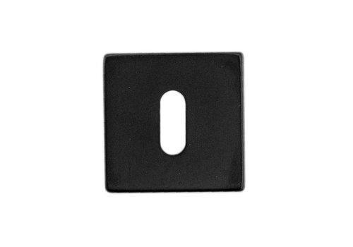 1 schwarze Kubic Shape-Schlüsselplatte