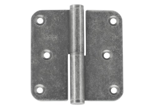 SCHARNIER HDD 80X80X2,5 OLD SILVER RECHTS
