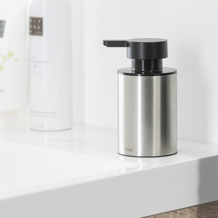 Tiger Colar Soap dispenser Freestanding Stainless steel brushed