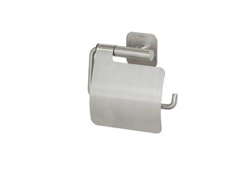 Tiger Colar Porte-rouleau papier toilette avec couvercle Acier inoxydable brossé