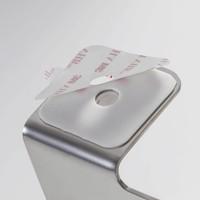 Tiger Colar Toiletrolhouder met klep RVS geborsteld