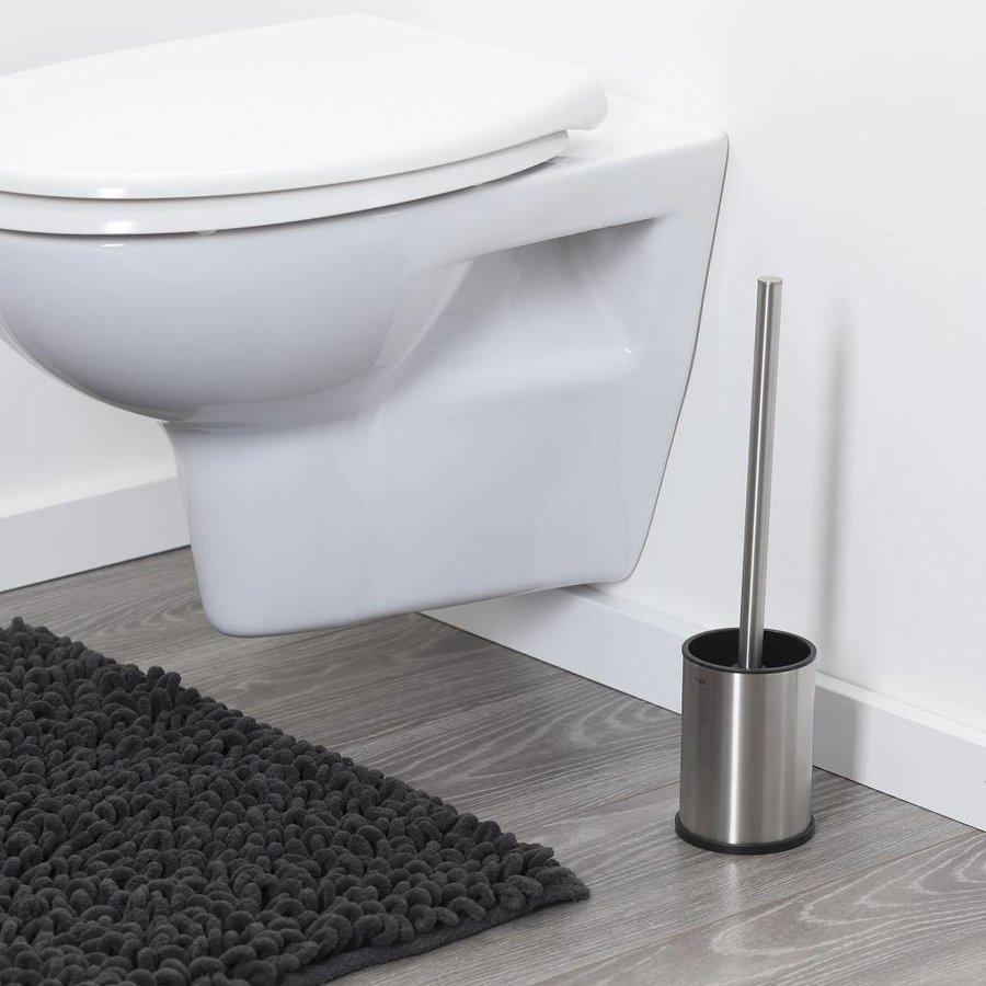 Tiger Colar Toiletborstel met houder vrijstaand RVS geborsteld