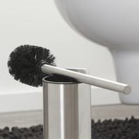 Tiger Colar Toiletborstel met houder RVS geborsteld