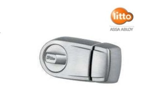 Litto surface-mounted lock B4824 white lacquered