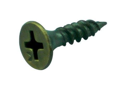 Vijs/schroef 17mm brons