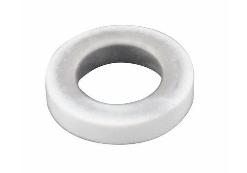 RING SCHARNIER 80X80X2,5 / 2,5 MM WEISS