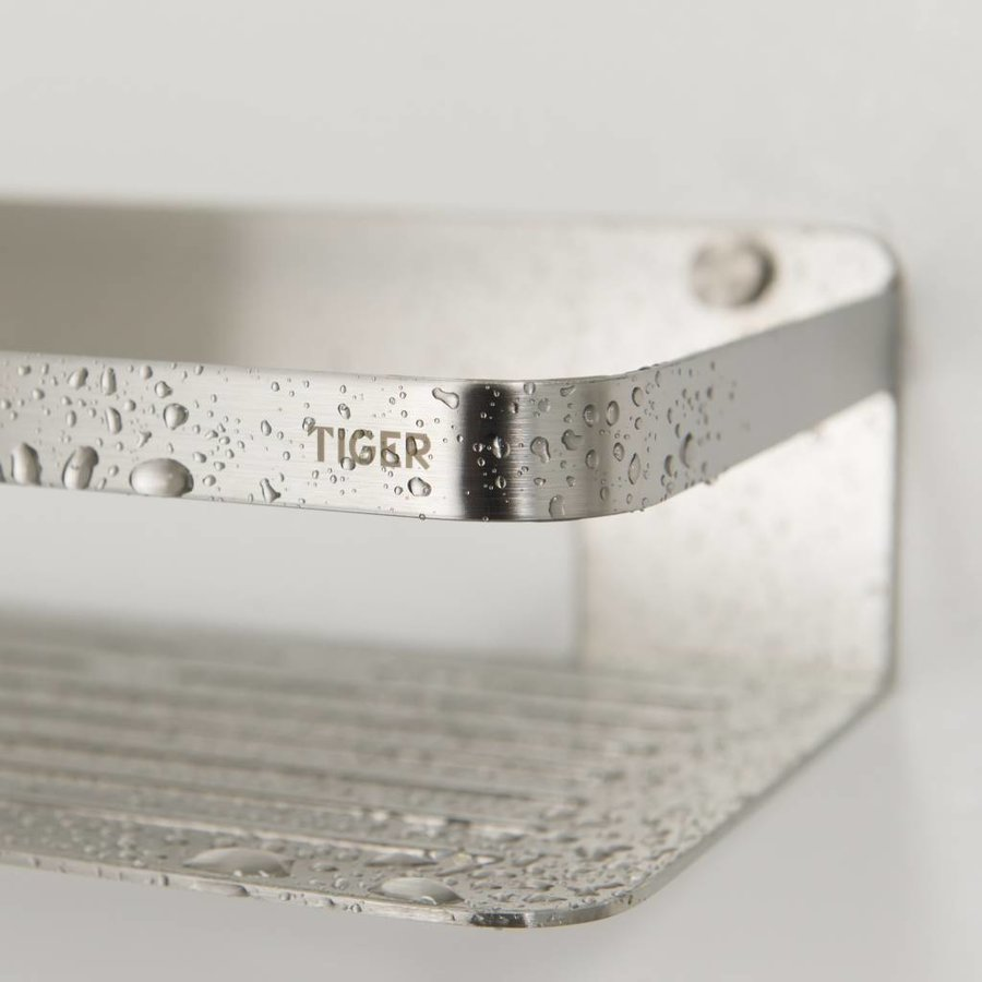Tiger Caddy Douchemandje RVS geborsteld