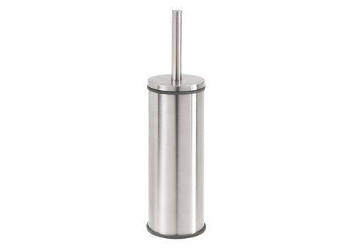 Tiger Boston Toilet brush and holder Freestanding Stainless steel brushed