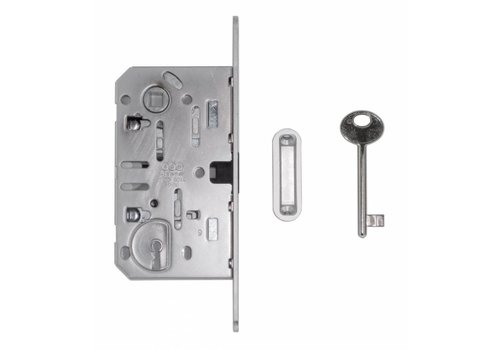 MAGNETIC LOCK 18mm INOX LOOK 90MM