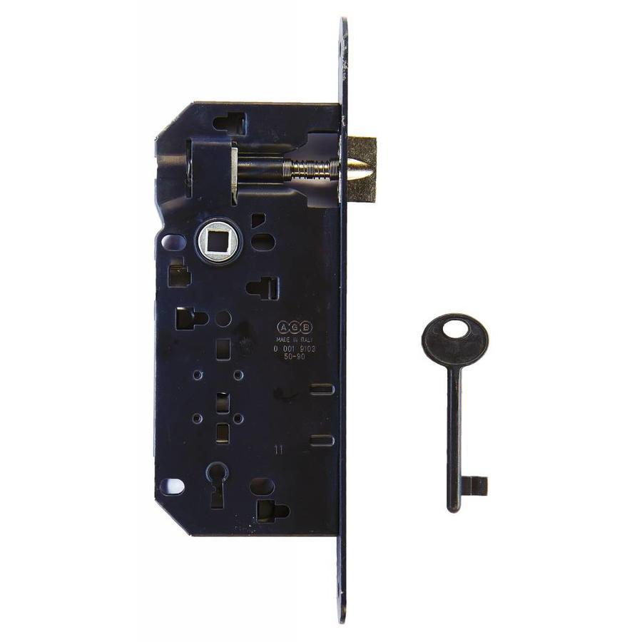 SLOT AGB ZWART 90MM - 22x238mm, DOORN 50mm