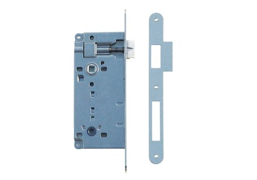LOCK NICKEL WC 90MM