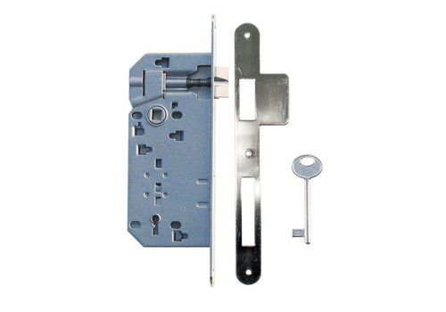 LOCK NICKEL 90MM + WIDE LOCKING PLATE