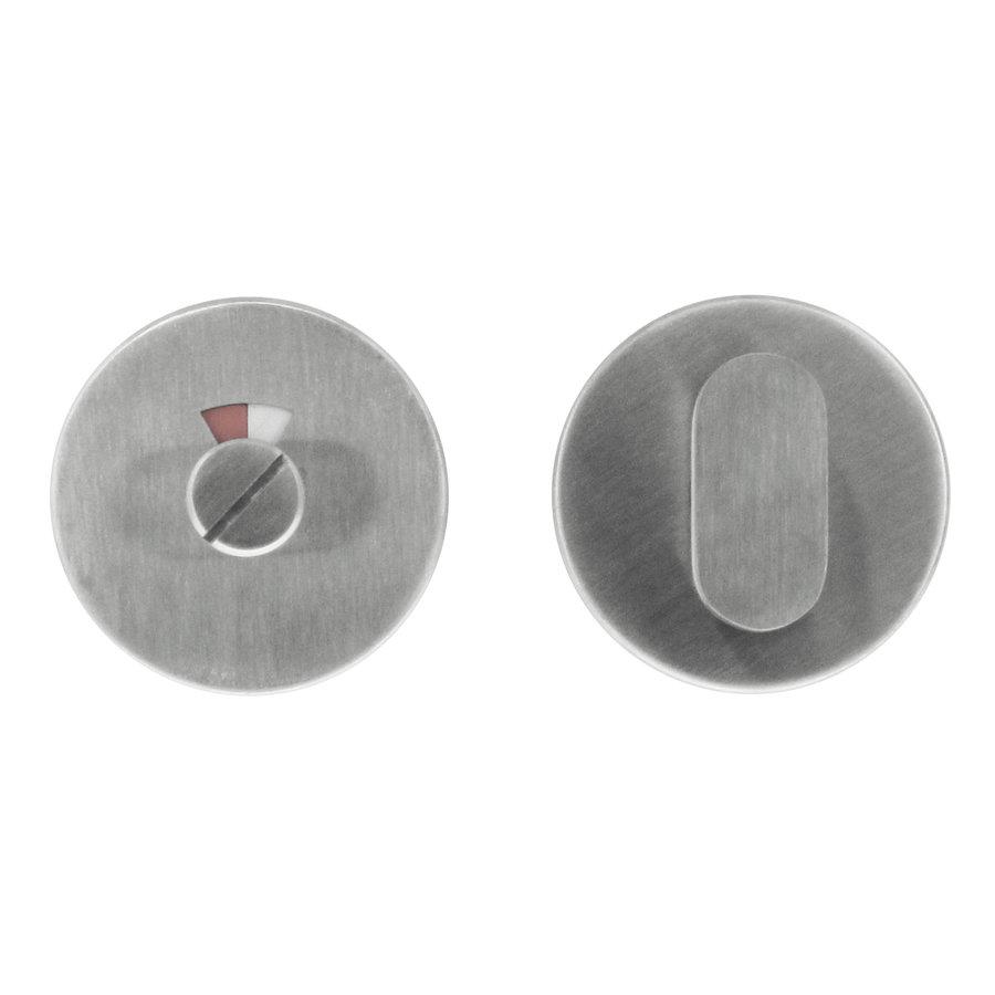 WC-garnituur inox stift 120mm