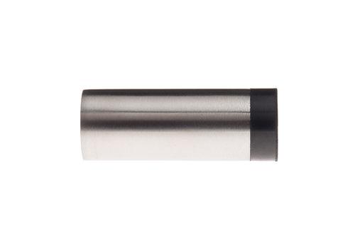 Cilindrische muurdeurstop RVS 30x80mm