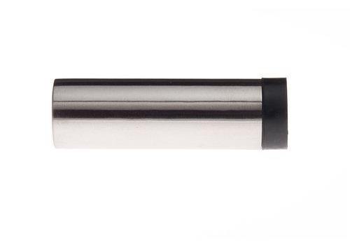 Cilindrische muurdeurstop RVS 30x100mm