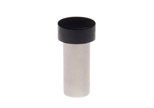 Butée de porte universelle cylindrique en acier inoxydable 25x70mm